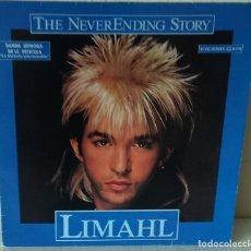 Discos de vinilo: LIMAHL - THE NEVER ENDING STORY MAXI EMI - 1984. Lote 192904981