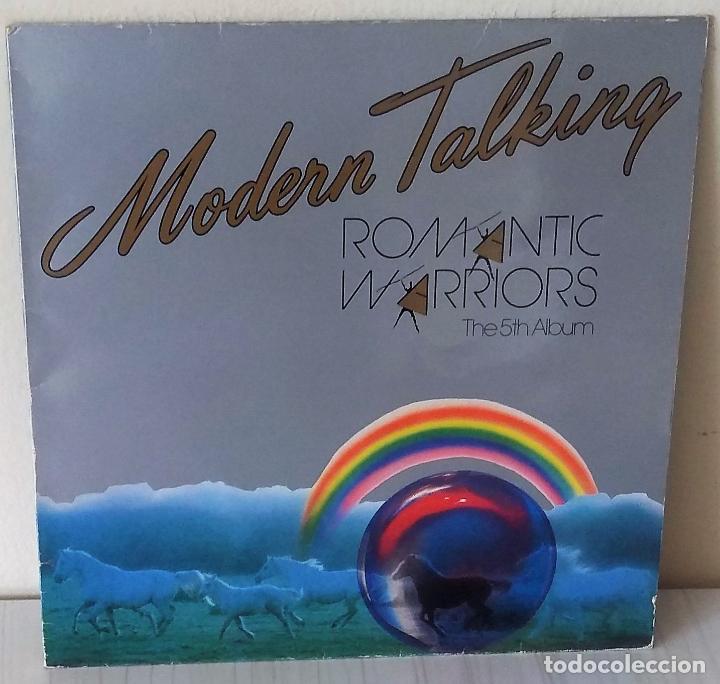 MODERN TALKING - ROMANTIC WARRIORS THE 5TH ALBUM ARIOLA - 1987 (Música - Discos - LP Vinilo - Disco y Dance)