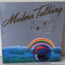 Discos de vinilo: MODERN TALKING - ROMANTIC WARRIORS THE 5TH ALBUM ARIOLA - 1987. Lote 192907335