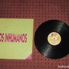 Discos de vinilo: LOS INHUMANOS - LOS INHUMANOS - MAXI - SPAIN - ZAFIRO - PROMOCIONAL - IBL - . Lote 192913860