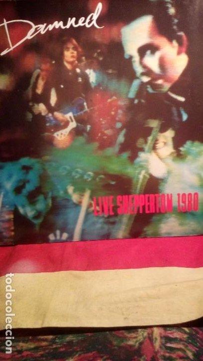 THE DAMNED - LIVE SHEPPERTON 1980 . (Música - Discos - LP Vinilo - Punk - Hard Core)