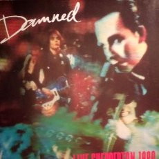 Discos de vinilo: THE DAMNED - LIVE SHEPPERTON 1980 .. Lote 192920096