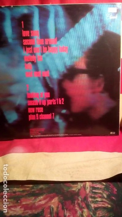 Discos de vinilo: THE DAMNED - LIVE SHEPPERTON 1980 . - Foto 2 - 192920096