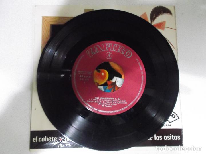 Discos de vinilo: LOS CHAVALITOS - VAMOS AL COLEGIO + PELUSIN MAQUINISTA + EL COHETE + EL TWIST DE LOS OSITOS EP - Foto 2 - 192923002