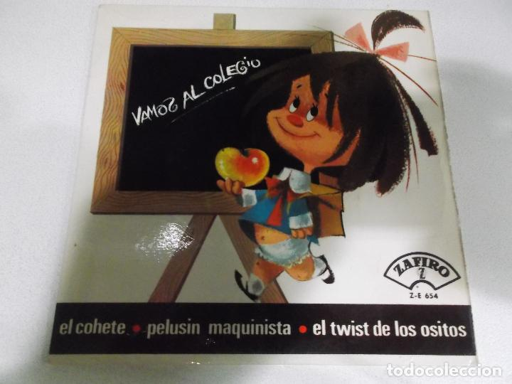 LOS CHAVALITOS - VAMOS AL COLEGIO + PELUSIN MAQUINISTA + EL COHETE + EL TWIST DE LOS OSITOS EP (Música - Discos de Vinilo - EPs - Música Infantil)
