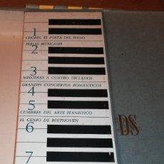 Discos de vinilo: CARPETA INCOMPLETA, LA MAGIA DEL PIANO. Lote 192939520