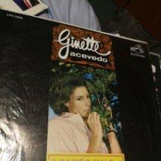 Discos de vinilo: GINETTE ACEVEDO- CARIÑO MALO RCA VICTOR LPV-7555 CARACAS VENEZUELA BUEN ESTADO. Lote 192940786