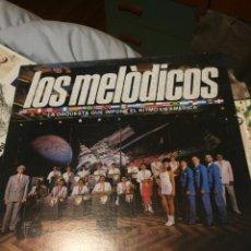 Discos de vinilo: LOS MELODICOS - LA ORQUESTA QUE IMPONE EL RITMO EN AMERICA VELVET VENEZUELA. Lote 192940825