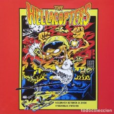 Discos de vinilo: THE HELLACOPTERS – RECORDED OCTOBER 13, 2008 STOCKHOLM, SWEDEN -LP-. Lote 218143568