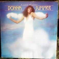 Discos de vinilo: DONNA SUMMER - A LOVE TRILOGY LP PARTIALLY MIXED 1976 DISCO . Lote 192959533