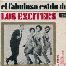 Discos de vinil: LOS EXCITERS (SOLO CARATULA). Lote 192962637