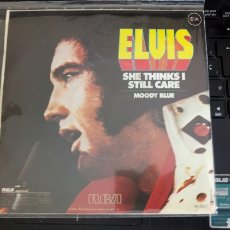 Discos de vinilo: ELVIS PRESLEY MOODY BLUE. Lote 192972183