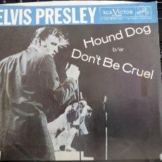 Discos de vinilo: ELVIS PRESLEY HOUND DOG. Lote 192972490