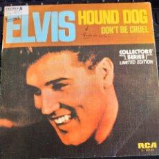 Discos de vinilo: ELVIS PRESLEY HOUND DOG. Lote 192972675