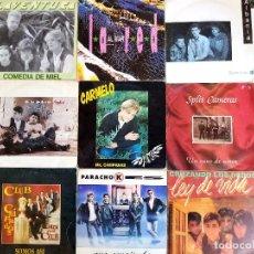 Discos de vinilo: LOTE POP ROCK ESPAÑOL. Lote 192974870