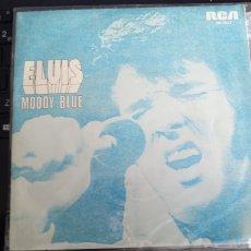 Discos de vinilo: ELVIS PRESLEY MOODY BLUE. Lote 192975015