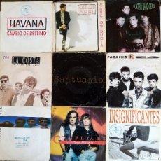 Discos de vinilo: LOTE 4 POP ROCK ESPAÑOL. Lote 192978126