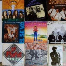 Discos de vinilo: LOTE 5 POP ROCK ESPAÑOL. Lote 192979110