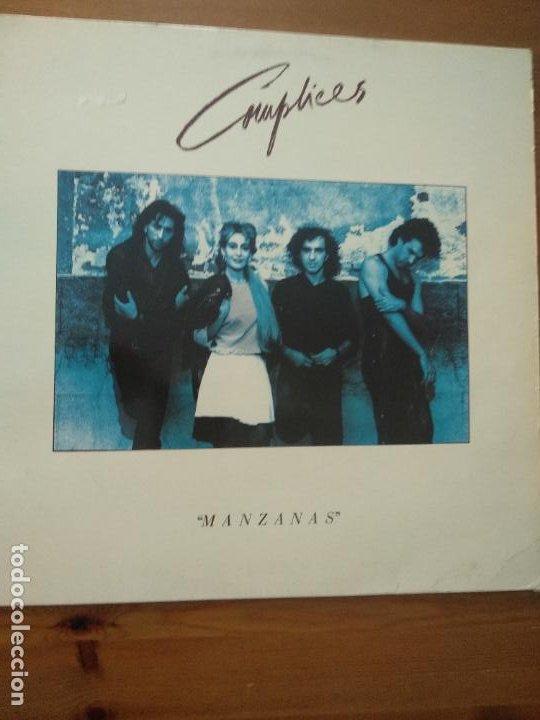 DISCO VINILO COMPLICES MANZANAS LP 1987 RCA EDICION ESPAÑOLA SPAIN (Música - Discos - LP Vinilo - Grupos Españoles de los 70 y 80)
