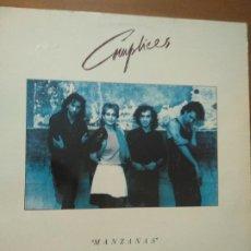 Disques de vinyle: DISCO VINILO COMPLICES MANZANAS LP 1987 RCA EDICION ESPAÑOLA SPAIN. Lote 193000161