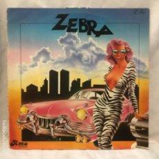 Discos de vinilo: ZEBRA – UNTITLED 1980. Lote 193001221