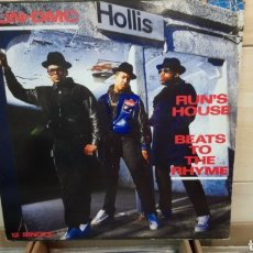 Discos de vinilo: RUN-DMC ‎– RUN'S HOUSE / BEATS TO THE RHYME . MAXI VINILO 1988. Lote 193003950