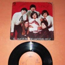Discos de vinilo: MERCI EL AMOR PUEDE HACERTE FELIZ. HISPAVOX 1969. Lote 193004278