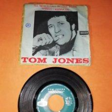 Discos de vinilo: TOM JONES . I,LL NEVER FALL IN LOVE AGAIN. DECCA RECORDS 1967. Lote 193007053