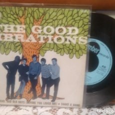 Discos de vinilo: THE GOOD VIBRATIONS IN THE BAD, BAD OLD DAYS SINGLE SPAIN 1969 PDELUXE. Lote 193010287
