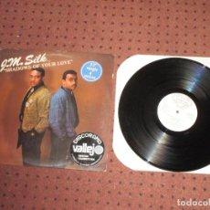 Discos de vinilo: J.M.SILK - SHADOWS OF YOUR LOVE - MAXI - USA - DJ INTERNATIONAL RECORDS - IBL - . Lote 193012423