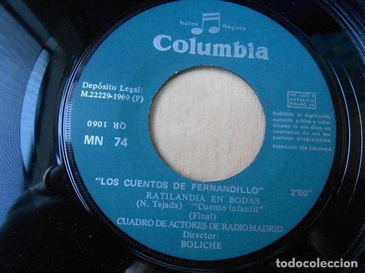 Discos de vinilo: CUENTO INFANTIL - RATILANDIA EN BODAS -, SG, RATILANDIA EN BODAS + 1, AÑO 1969 - Foto 4 - 193020623