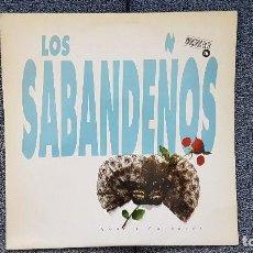 Discos de vinilo: LOS SABANDEÑOS - AMOR Y CARNAVAL. ALBUM DOBLE. EDITADO POR ZAFIRO. AÑO 1.992. Lote 193021157