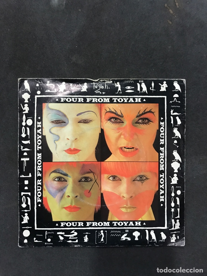 FOUR FROM TOYAH SINGLE EP DE 1981 (Música - Discos de Vinilo - EPs - Pop - Rock Extranjero de los 70	)