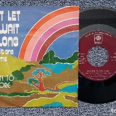 Discos de vinilo: ROTTEN TO THE CORE - DON´T LET ME WAIT TOO LONG / LET´S DO IT ONE MORE TIME, AÑO.1.973. MUY RARO. Lote 193023525