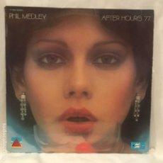 Discos de vinilo: PHIL MEDLEY – AFTER HOURS 77' 1977 RARO DISCO -DISCO FUNK - SOUL. Lote 193033673