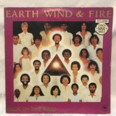 Discos de vinilo: EARTH, WIND & FIRE BACK ON THE ROAD TAKE IT TO THE SKY 1980. Lote 193036475
