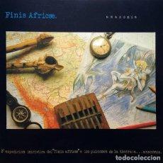Discos de vinilo: FINIS AFRICAE (3ª EXPEDICIÓN) AMAZONÍA . LP (1990) NUEVO A ESTRENAR CON LIBRETO JUAN A. ARTECHE. Lote 193045955