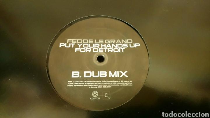 Discos de vinilo: Fedde Le Grand–Put Your Hands Up For Detroit - Maxi vinilo electro House - Foto 2 - 193055231