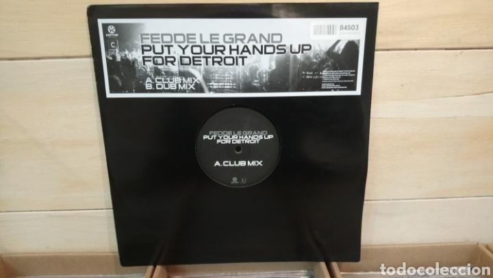 FEDDE LE GRAND–PUT YOUR HANDS UP FOR DETROIT - MAXI VINILO ELECTRO HOUSE (Música - Discos de Vinilo - Maxi Singles - Techno, Trance y House)