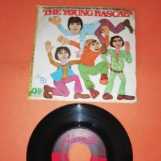 Discos de vinilo: THE YOUNG RASCALS . COMO PUEDO ESTAR SEGURO. UNA CHICA COMO TU. ATLANTIC RECORDS 1967. Lote 193058325