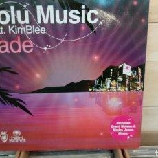 Discos de vinilo: SOLU MUSICFEAT.KIMBLEE–FADE . MAXI VINILO ELECTRO HOUSE. Lote 193060526