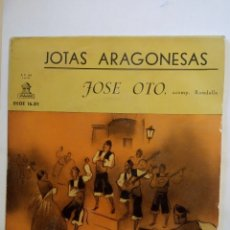 Discos de vinilo: VINILO JOTAS ARAGONESAS JOSÉ OTO ACOMP RONDALLA. Lote 193064077