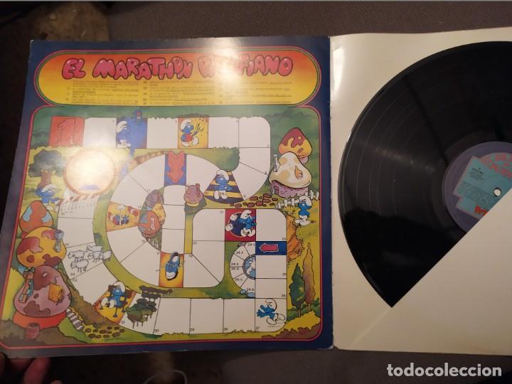 Discos de vinilo: EL GRAN LIBRO DE LOS JUEGOS: LOS PITUFOS - LIBRO Y DISCOS CARNABY 1981 CON JUEGOS - Foto 2 - 193065707
