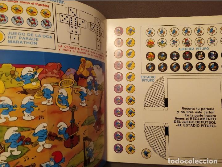 Discos de vinilo: EL GRAN LIBRO DE LOS JUEGOS: LOS PITUFOS - LIBRO Y DISCOS CARNABY 1981 CON JUEGOS - Foto 3 - 193065707