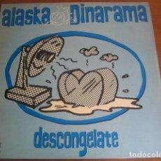 Discos de vinil: ALASKA Y DINARAMA - DESCONGÉLATE ******* RARO MAXI 1989 BUEN ESTADO!. Lote 193075306