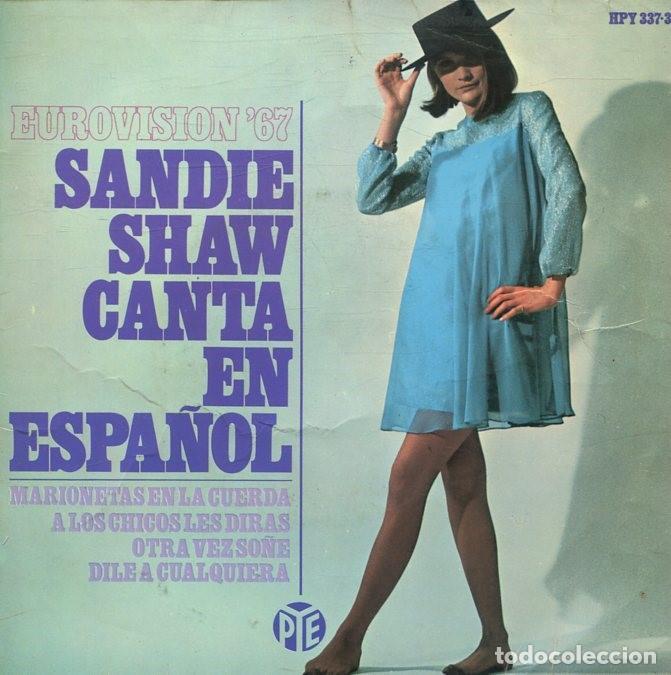SANDIE SHAW (EN ESPAÑOL) MARIONETAS EN LA CUERDA + 3 (EP 1967) (Música - Discos de Vinilo - EPs - Festival de Eurovisión)