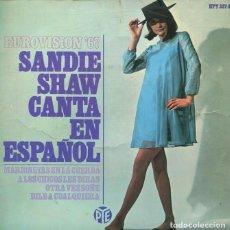 Discos de vinilo: SANDIE SHAW (EN ESPAÑOL) MARIONETAS EN LA CUERDA + 3 (EP 1967). Lote 193075677