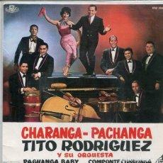 Disques de vinyle: TITO RODRIGUEZ (SOLO CARATULA). Lote 193109418