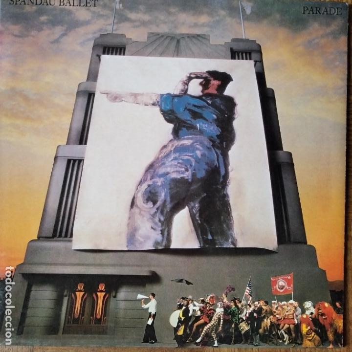 SPANDAU BALLET- PARADE - LP 1984 (Música - Discos de Vinilo - EPs - Pop - Rock - New Wave Extranjero de los 80)