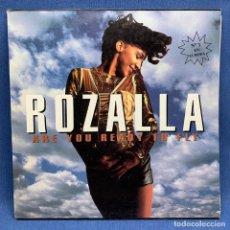 Discos de vinilo: ROZALIA ARE YOU READY TO FLY LP. ESTUCHE VG+, VINILO VG+ . Lote 193174905